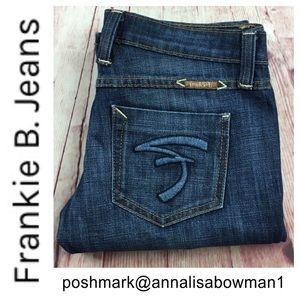 💸Frankie B Straight Leg denim jean size 28